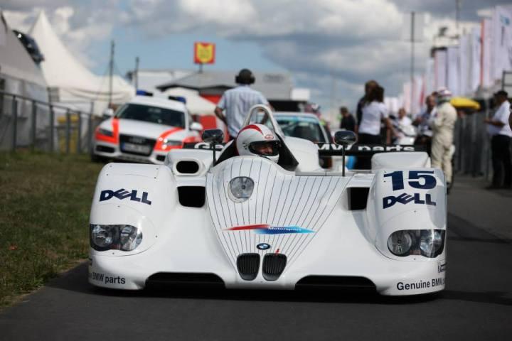 En Agosto Johnny Cecotto manejó un BMW LMR V12 de 1998 en Nurburgring (Foto: Prensa Johnny Cecotto)