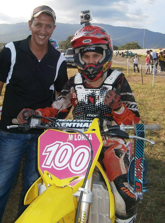 Mariú Lorca se alzó con el título latinoamericano de Motocross femeninno disputado en Ecuador (Foto: Prensa María Eugenia Lorca)