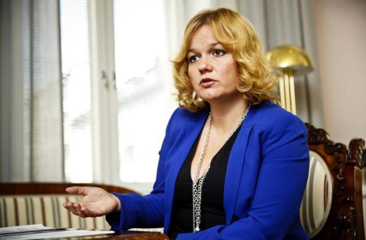 Ministra de Educación, Ciencia y Tecnología de Finlandia, Krista Kiuru (Foto: ts.fi)