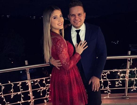 Daniella Cabello y Omar Acedo