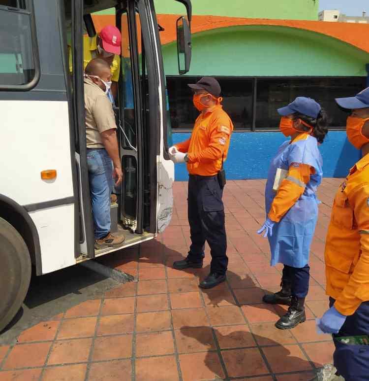 Pruebas rápidas Covid-19 en Puerto La Cruz